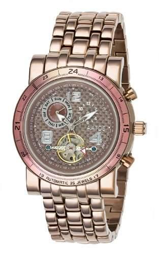 Aatos Herren Automatik Armband Uhr NopeusBrBrBr