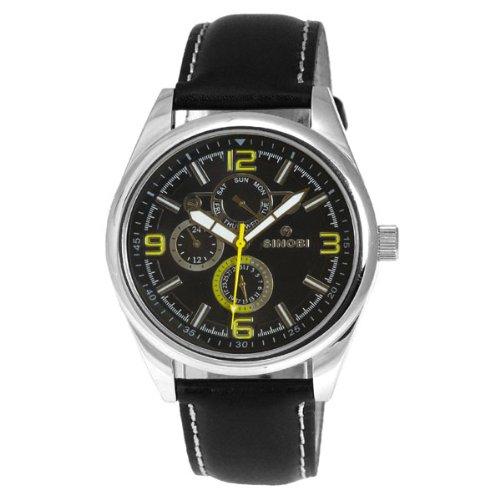 Sinobi Herren Uhren Quarz Analog SS0048G 2