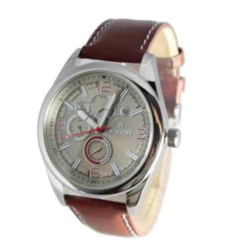 Sinobi Herren-Uhren Quarz Analog SS0048G-3