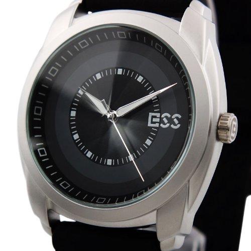 ESS Marke New Herren Unisex Schwarz Classic Wert Gummi Mode wm254 ess