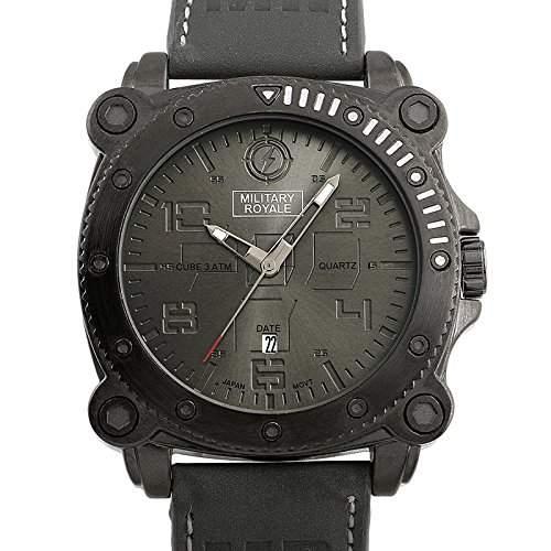 ESS Herrenuhr Fliegeruhr Herren Uhr Armbanduhr  Military Royale® MR082