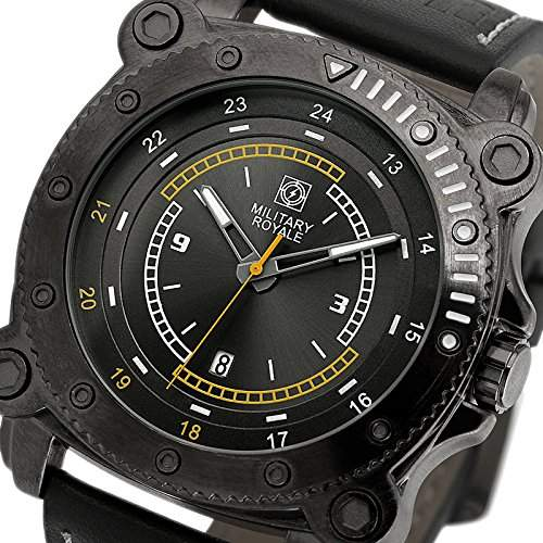 ESS Herrenuhr Fliegeruhr Herren Uhr Armbanduhr  Military Royale® MR083