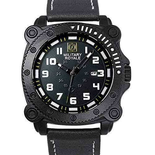 ESS Herrenuhr Fliegeruhr Herren Uhr Armbanduhr  Military Royale® MR087