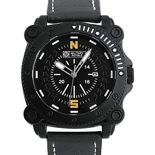 ESS Herrenuhr Fliegeruhr Herren Uhr Armbanduhr  Military Royale® MR088