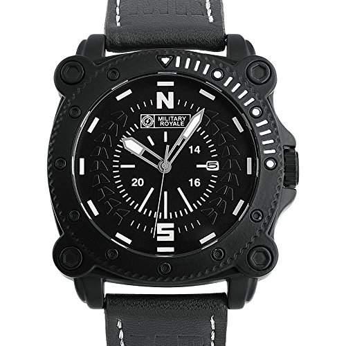 ESS Herrenuhr Fliegeruhr Herren Uhr Armbanduhr  Military Royale® MR089