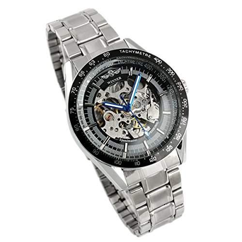 ESS - Herrenuhr - Automatik Uhr - Edelstahl Armbanduhr - silbern - WM174 UVP: 47,00 EURO