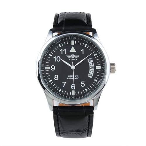 ESS - Herren Armbanduhr - Automatik Uhr - Leder Armbanduhr - WM209 - Geschenk