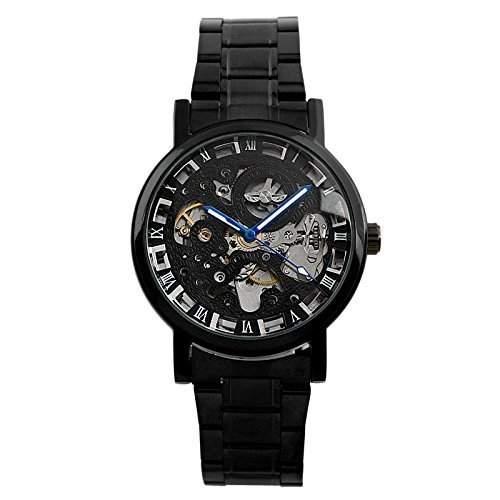 ESS - Herrenuhr - Automatik Uhr - Edelstahl Armbanduhr - schwarz - WM282
