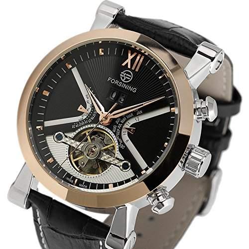 ESS Herrenuhr - Edelstahl Automatikuhr - Armband Uhr- - WM353