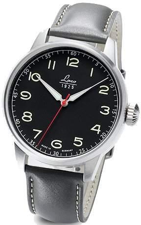 Laco Herren Armbanduhr Black Automatik 861610