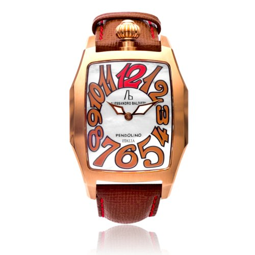 Alessandro Baldieri Pendolino Analogue Mother of Pearl Dial Womens watch AB0042 Copper PVD