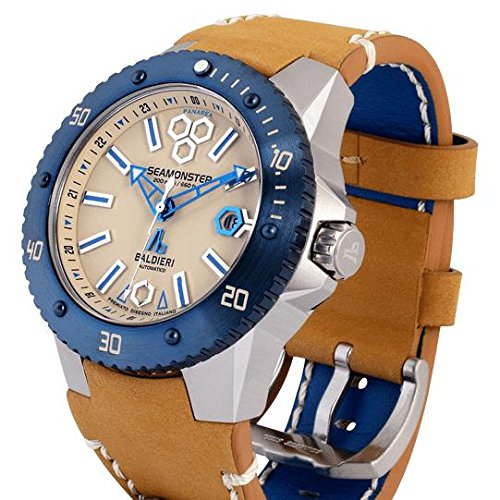 Seamonster Blue Beige Watch