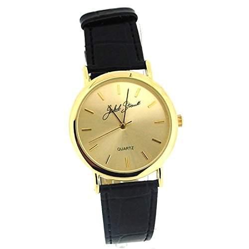 JAKOB STRAUSS - Elegante Herrenuhr mit Schwarzem Armband JAST21