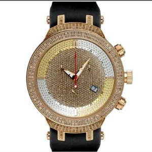 Mens Diamant Joe Rodeo Watch 2 20ct Yellow Gold Master