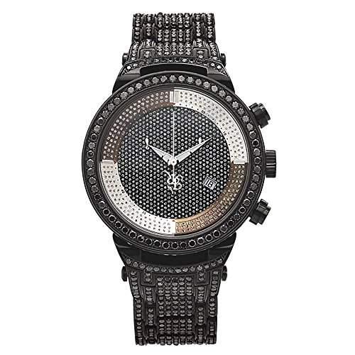 Joe Rodeo Diamant Herren Uhr - MASTER schwarz 25 ctw