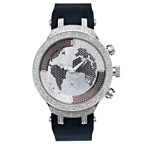 Joe Rodeo Diamant Herren Uhr - MASTER silber 22 ctw