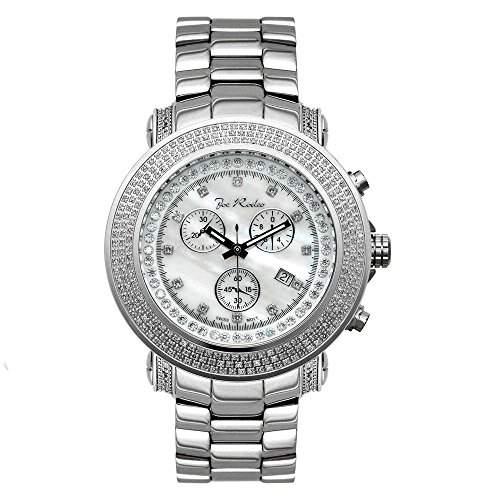 Joe Rodeo Diamant Herren Uhr - JUNIOR silber 25 ctw