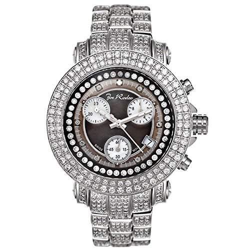 Joe Rodeo Diamant Herren Uhr - RIO silber 10 ctw