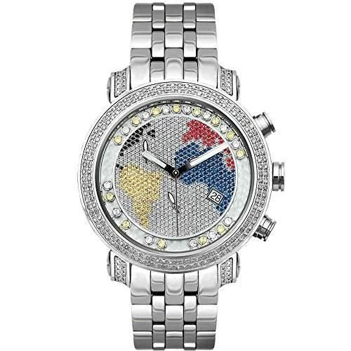 Joe Rodeo Diamant Herren Uhr - TYLER silber 2 ctw