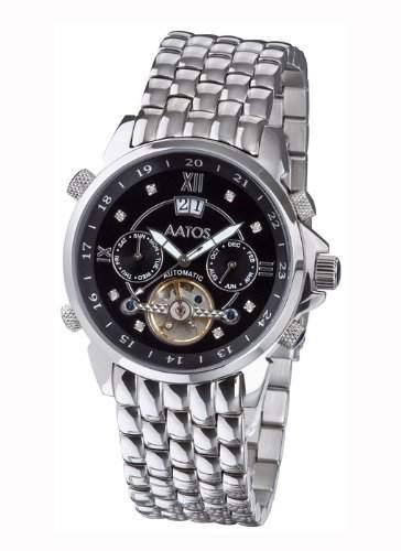 Aatos Herren Automatik Armband Uhr JaakkoSSBD