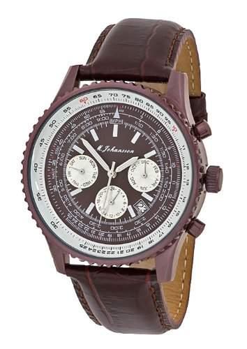 M Johansson Herren Armband Automatik Uhr JunoLBrBr