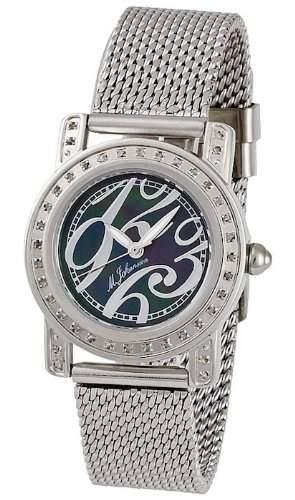 MJohansson Edelstahl Damen Quarz Armband Uhr EmiliaSSB