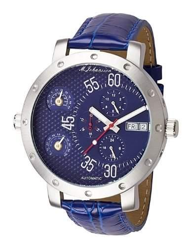 MJohansson Herren Armband Uhr XXL 52 mm ArisLSBL