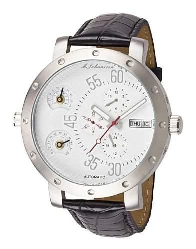 MJohansson Herren Armband Uhr XXL 52 mm ArisLSW