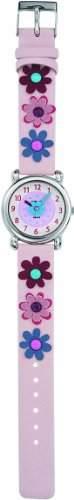 Trendy Kiddy Maedchen-Armbanduhr Analog pink KL112