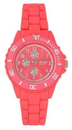 Trendy Kiddy Unisex-Armbanduhr Analog Plastik rosa KL159