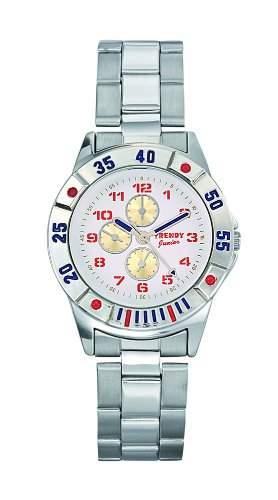 Trendy Kiddy Jungen-Armbanduhr Analog grau KL169