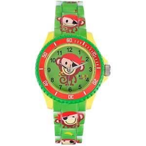 Trendy Kiddy Unisex-Armbanduhr Analog Quarz Kunststoff KL233