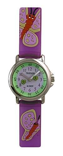 Trendy Kiddy Maedchen-Armbanduhr Analog KL28