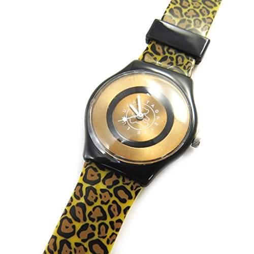 Designer-uhr Lulu Castagnettebrauner leopard