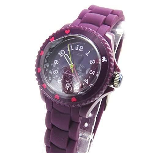 Armbanduhr silikon Lulu Castagnettepurpur