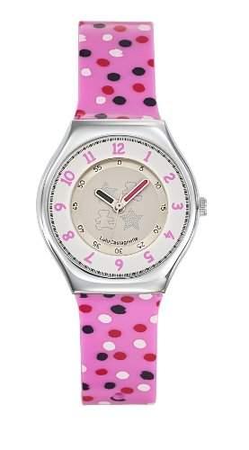 Lulu Castagnette Damen-Armbanduhr Analog Quarz Mehrfarbig 38707