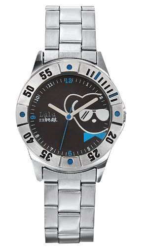 Lulu Castagnette Unisex-Armbanduhr Analog grau 37001