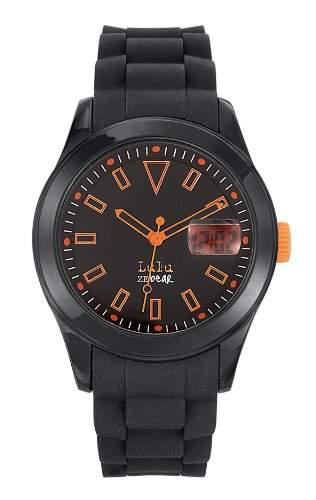 Lulu Castagnette Unisex-Armbanduhr Analog Digital Quarz Silikon 37013
