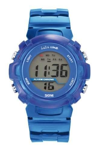 Lulu Castagnette Herren-Armbanduhr Digital Quarz Kunststoff 37018