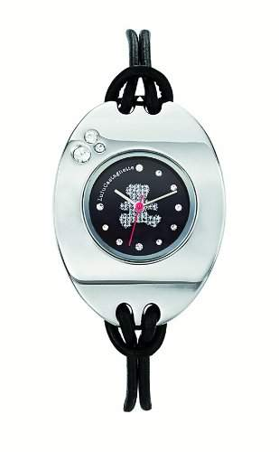Lulu Castagnette Maedchen-Armbanduhr Analog schwarz 38509