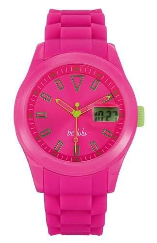 Lulu Castagnette Damen-Armbanduhr Analog Digital Quarz Silikon 38653