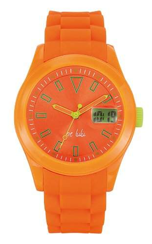 Lulu Castagnette Damen-Armbanduhr Analog Digital Quarz Silikon 38655