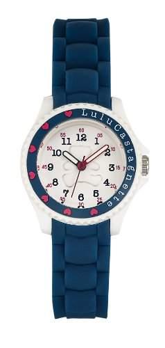 Lulu Castagnette, 38732 Maedchen-Armbanduhr Analog Silikon Blau
