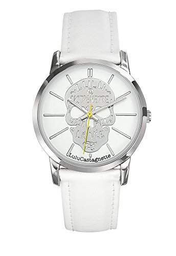 Lulu Castagnette Damen-Armbanduhr Analog Quarz Weiss 38748