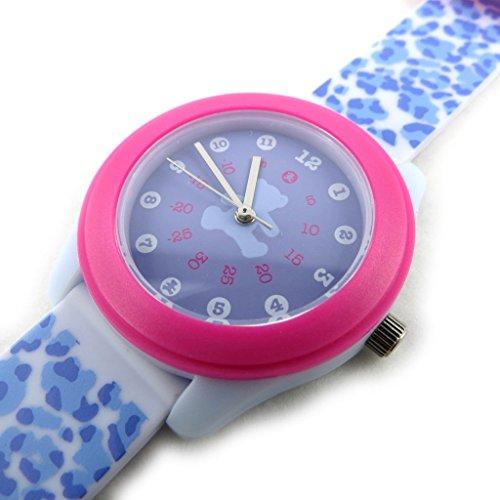 Armbanduhr french touch Lulu Castagnetteblau purpur rosa