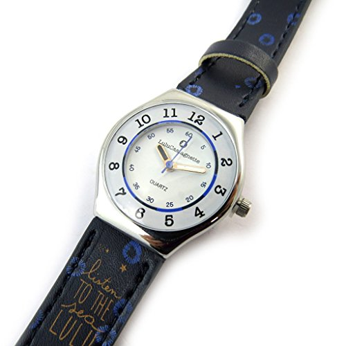 Armbanduhr french touch Lulu Castagnettemarine mini stern