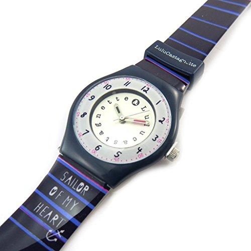Armbanduhr french touch Lulu Castagnettepurpur seemann