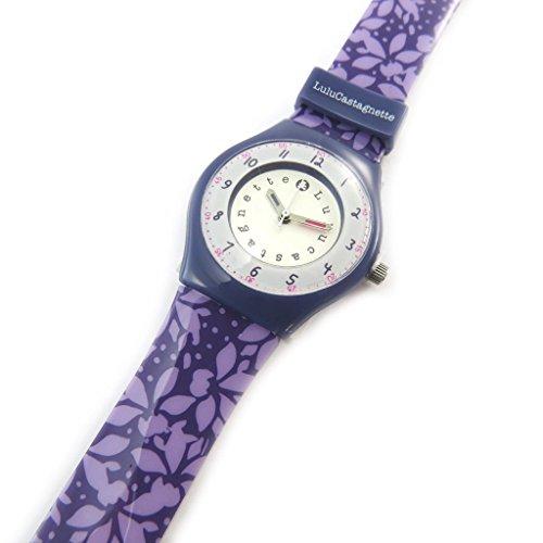 Armbanduhr french touch Lulu Castagnettepurpur wahine