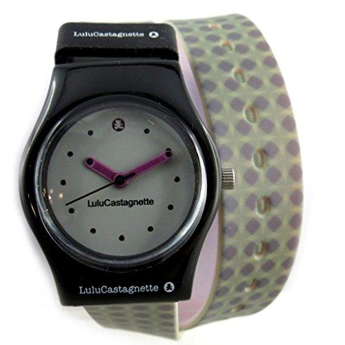 Armbanduhr french touch Lulu Castagnettegrau gruen