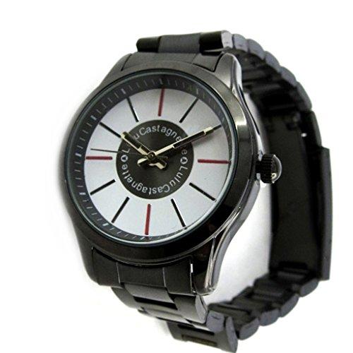 Armbanduhr french touch Lulu Castagnetteschwarz weiss